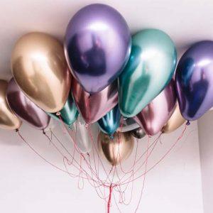 Metalizuoti (Chrome) balionai