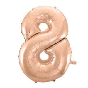 """Folinis balionas skaičius """"8"""""""