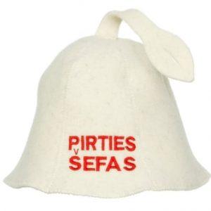 """Pirties kepurė """"Pirties šefas"""""""