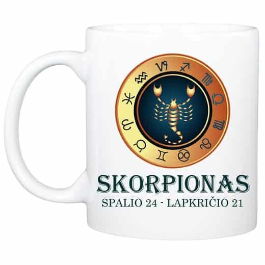 """Puodelis """"Skorpionas"""" (330ml)"""
