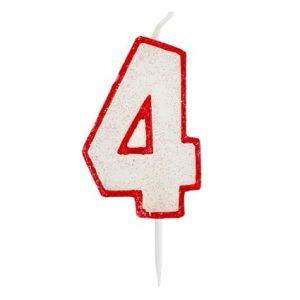 """Torto žvakutė """"4"""""""