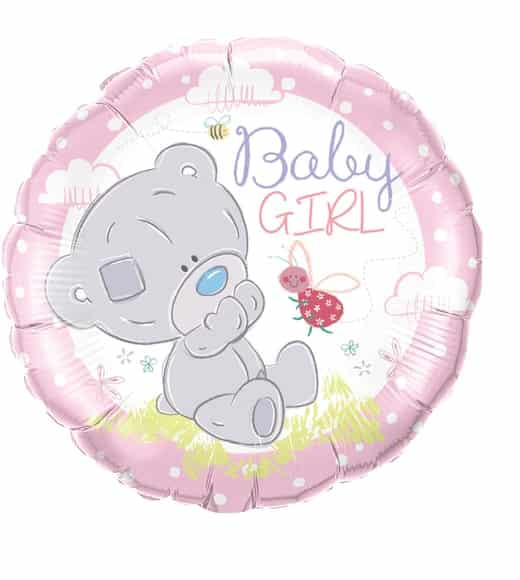 "Folinis balionas ""Baby girl"""
