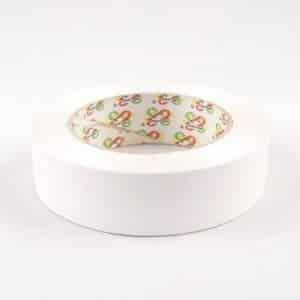 Plastikinė (balta) juostelė