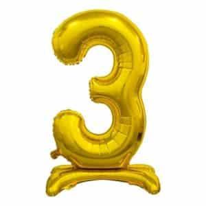 "Auksinis folinis skaičius ""3"""