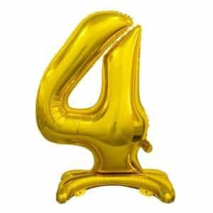 "Auksinis folinis skaičius ""4"""