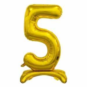 "Auksinis folinis skaičius ""5"""