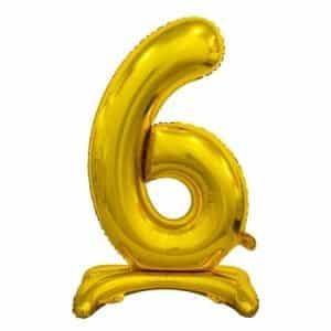 "Auksinis folinis skaičius ""6"""