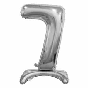 """Sidabrinis folinis skaičius """"7"""""""