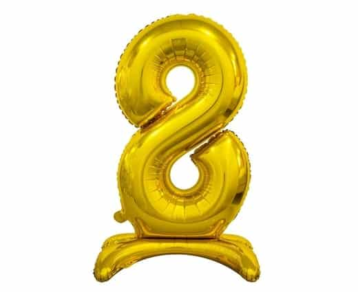 "Auksinis folinis skaičius ""8"""