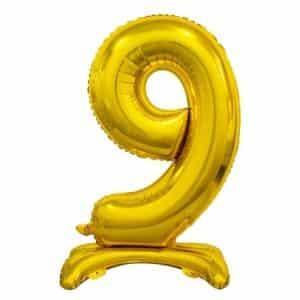 "Auksinis folinis skaičius ""9"""