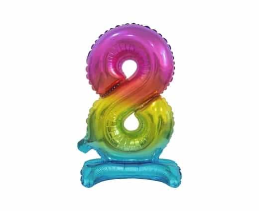 """Spalvotas folinis skaičius """"8"""""""