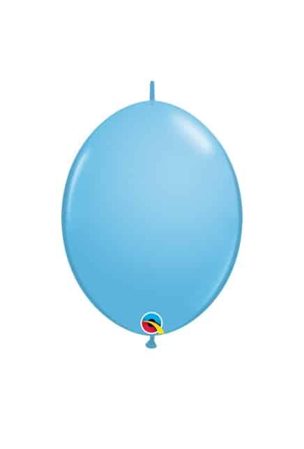 "Žydri balionai girliandai 16cm./06"""