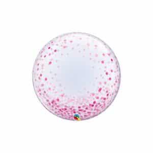 """""""BABLAS"""" su rožiniais taškeliais 24""""/61cm"""