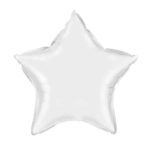Folinė - balta žvaigždutė