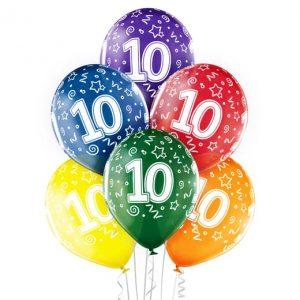 """Gimtadienio balionai """"10"""""""