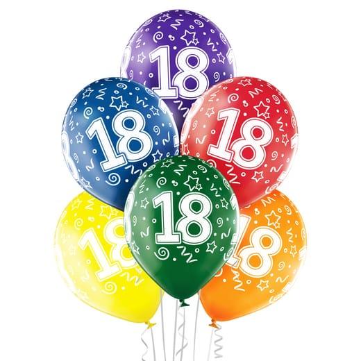 """Gimtadienio balionai """"18"""""""
