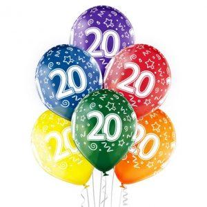"""Gimtadienio balionai """"20"""""""