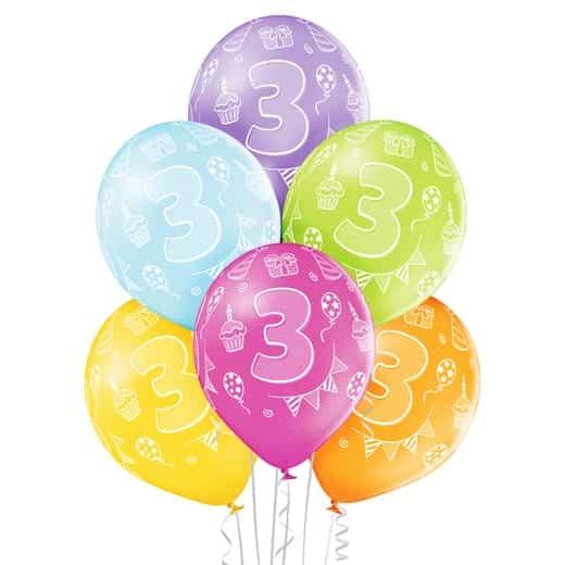 """Gimtadienio balionai """"3"""""""