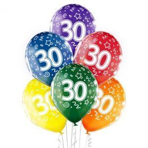 """Gimtadienio balionai """"30"""""""