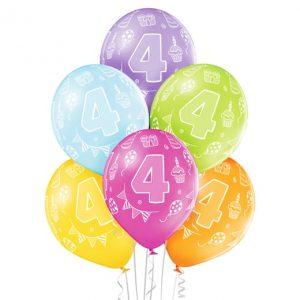 """Gimtadienio balionai """"4"""""""