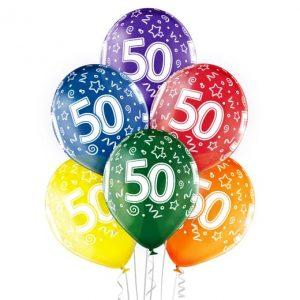 """Gimtadienio balionai """"50"""""""