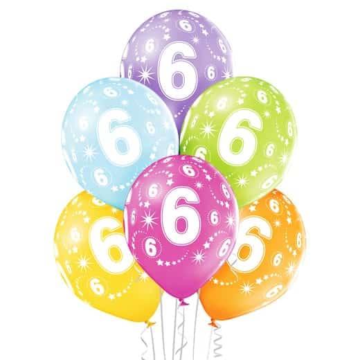 """Gimtadienio balionai """"6"""""""
