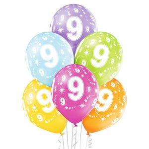 """Gimtadienio balionai """"9"""""""