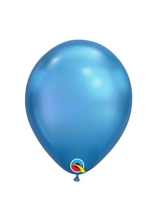 Mėlyni - chrominiai balionai