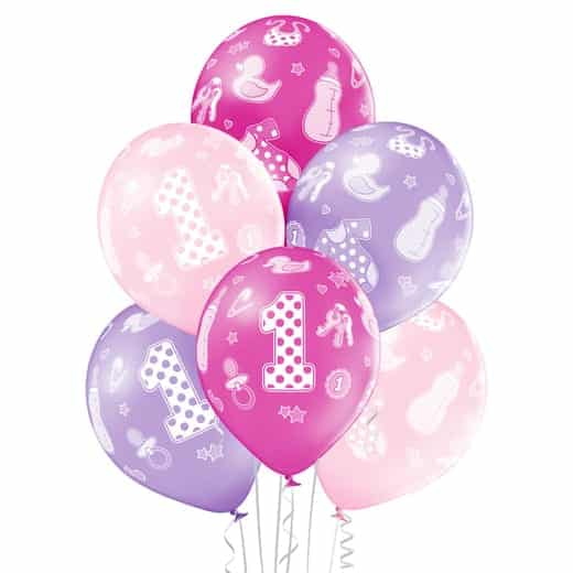"""Gimtadienio balionai """"1"""""""
