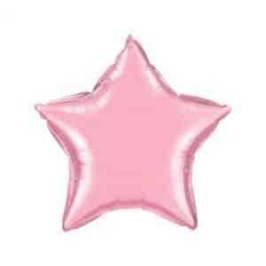 folinis-balionas-sviesiai-rozine-zvaigzde