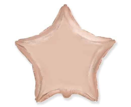 """Folinė - """"Rose gold"""" žvaigždutė"""