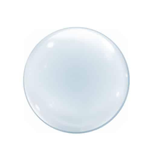 """Plastikinis - skaidrus balionas 24""""/61cm."""