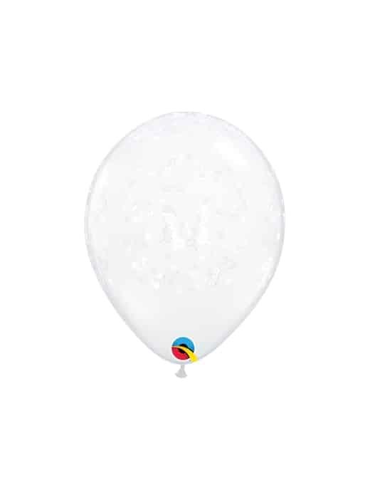 """Skaidrūs balionai """"Drugeliai"""" 12cm./05"""""""