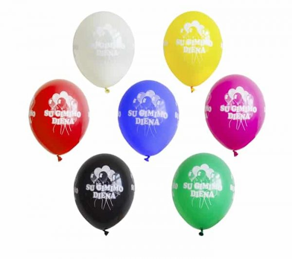 "Balionai ""Su gimimo diena"""