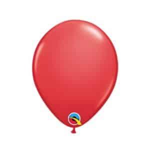 """Raudoni balionai 12cm./05"""""""