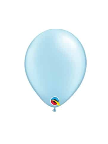 "Žydri - perlamutriniai balionai 12cm./05"""