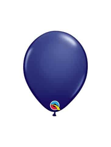 "Tamsiai mėlyni balionai 12cm./05"""