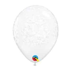 """Skaidrūs balionai su raštais 12cm./05"""""""