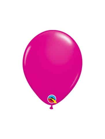 """Tamsiai rožiniai balionai 12cm./05"""""""