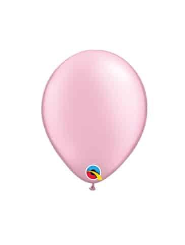 """Rožiniai - perlamutriniai balionai 12cm./05"""""""