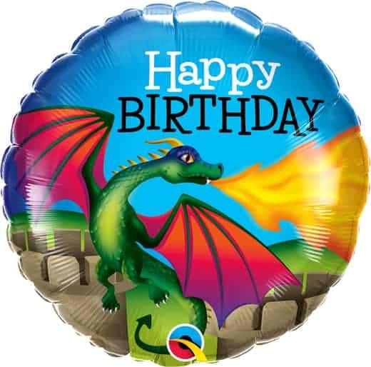 Folinis balionas su drakonu