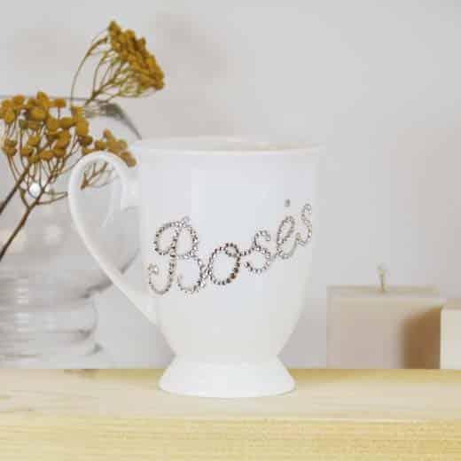 "Porcelianinis puodelis ""BOSĖS"""