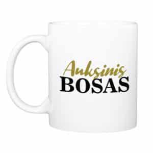 "Puodelis ""Auksinis bosas"" (330ml.)"