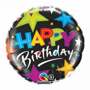 "Folinis balionas ""Happy birthday"""