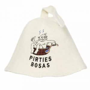 "Pirties kepurė ""Pirties bosas"""
