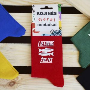 """Kojinės """"Lietuvos žvejys"""""""