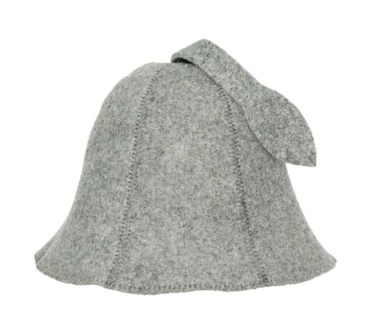 Pilka pirties kepurė