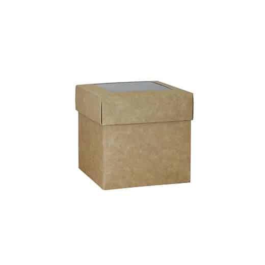 Dviejų dalių dėžutė 100x100x100mm