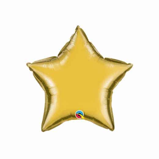 """Folinis balionas """"Auksinė žvaigždė"""""""