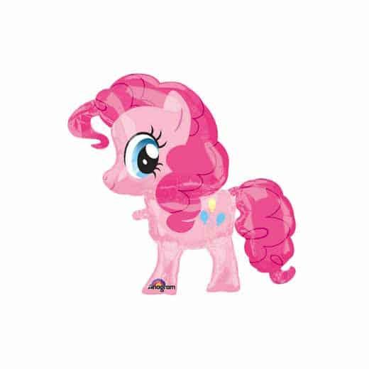 """Folinis balionas """"Ponis"""" rožinis"""